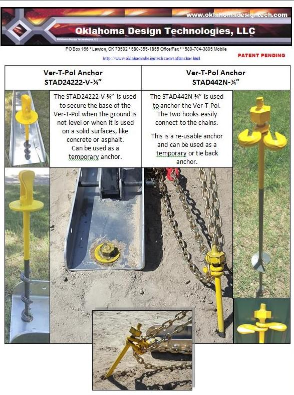 VER-T-POL anchors